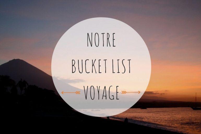 objectifs voyage