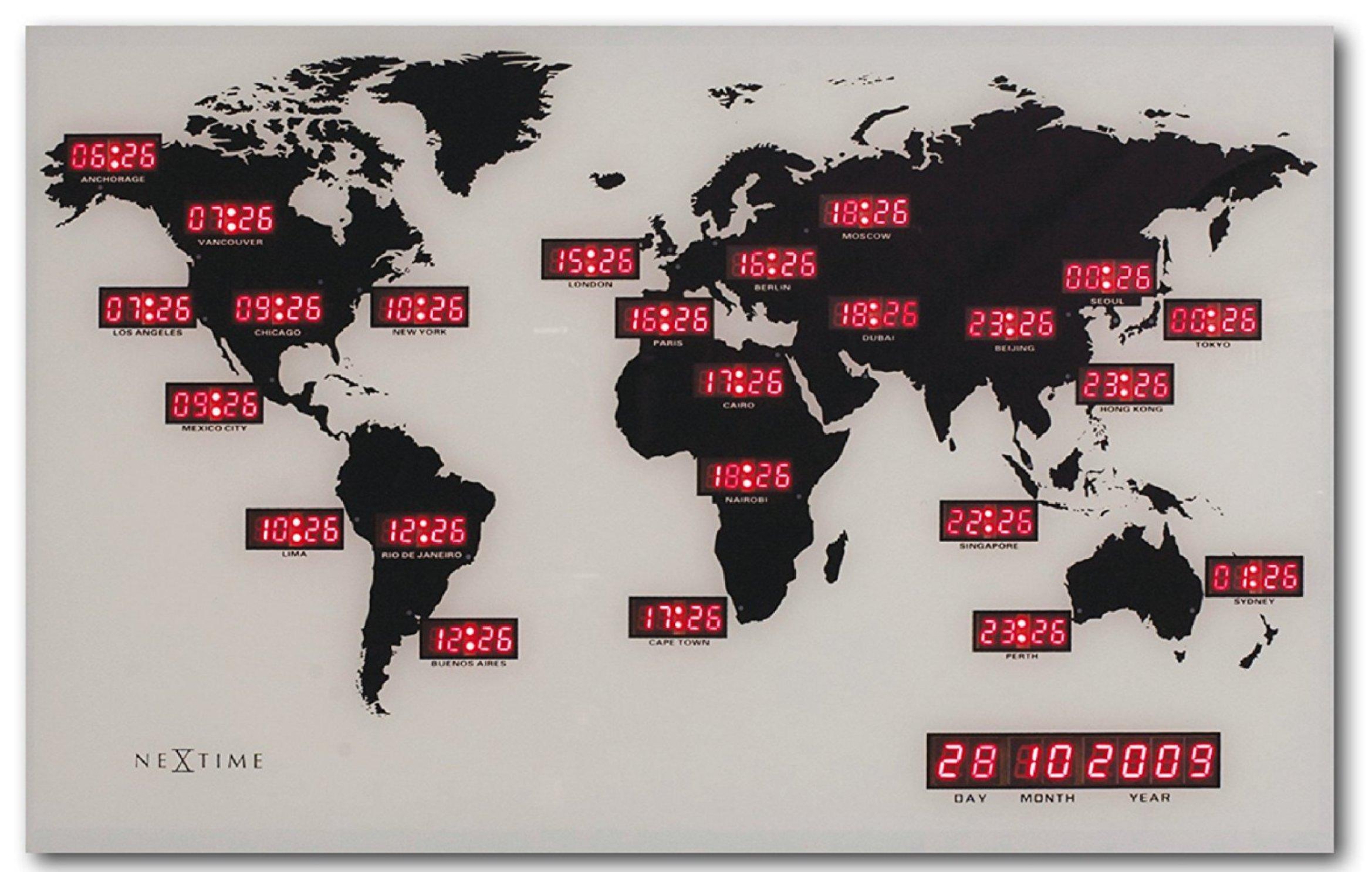 Horloge monde